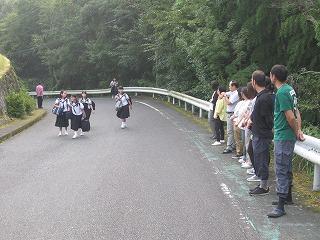 8月27日(火) あいさつ運動