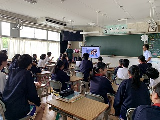 9月9日(月) 研究授業の様子