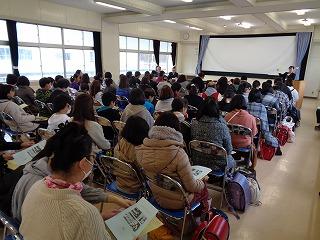1月23日(木) 新入生説明会