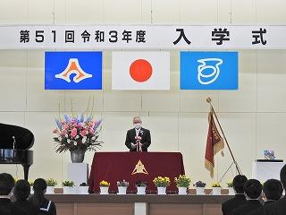 4月7日(水) 入学式