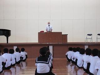 7月21日(水) 終業式